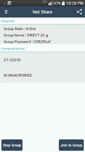 NetShare-no-root-tethering::WiFi Hotspot Screenshot