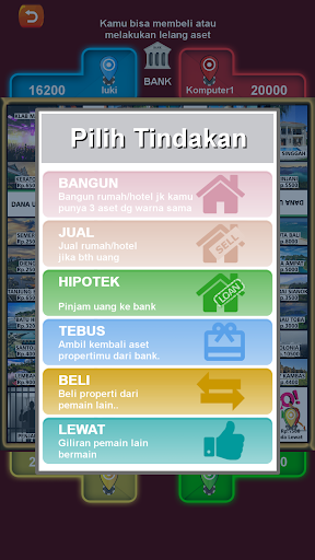 Monopoli Indonesia Offline 1.1 screenshots 2