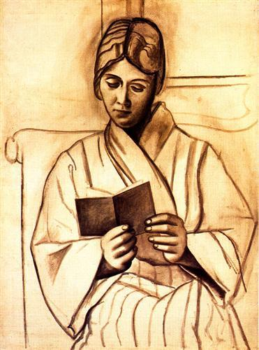 Woman reading (Olga) - Pablo Picasso