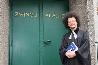 Photo: GD mit Gastprediger Jaroslav F. Pechar aus Prag - 23.3.2014 - 2014-03-23 (2).jpg