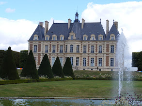 Photo: Now back at the château, and this view from the rear.