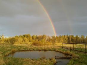 Photo: Двойная радуга