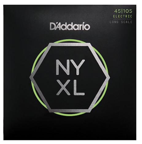 DADDARIO NYXL45105 Elbas NYXL Nickel Wound 045-105 Custom Light