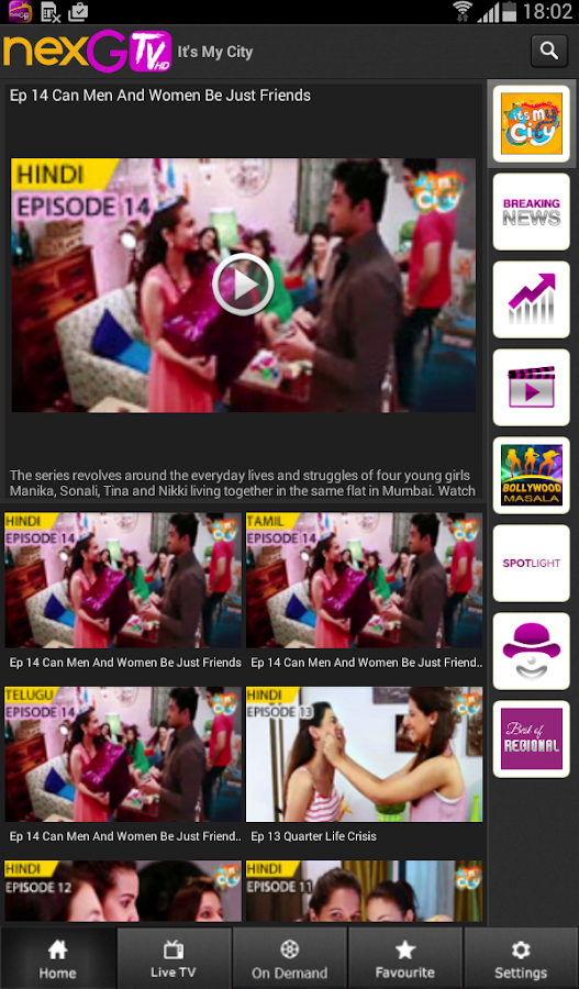 nexGTv HD:Mobile TV, Live TV   Android Apps on Google Play