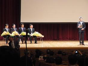 Photo: 歴代会長が並ぶ