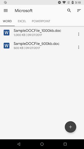 N Docs - Office, Pdf, Text, Markup, Ebook Viewer  screenshots 4