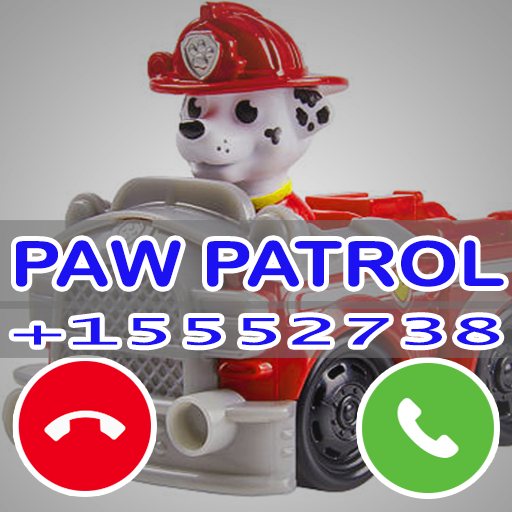 Fake Paw Dog Call Patrol Prank Simulation