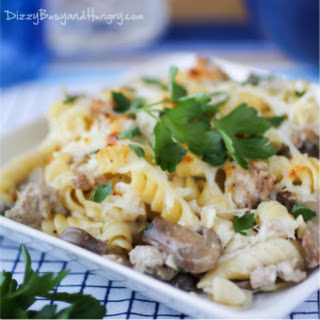 Turkey Rotini Bake