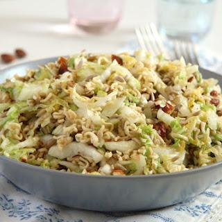 Ramen Napa Cabbage Salad.