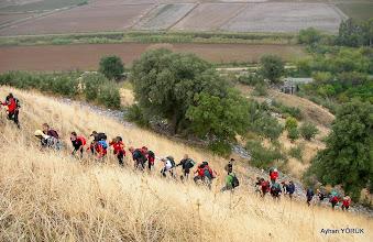 Photo: Çıkış başladı. Priene Z Yolu - KURŞUNLU Manastırı - Radon Termal Faaliyeti - 26.10.2014