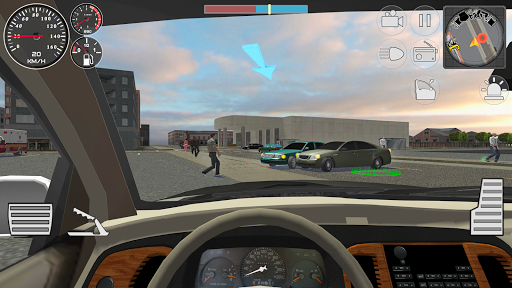 Police Cop Simulator. Gang War apkmr screenshots 3