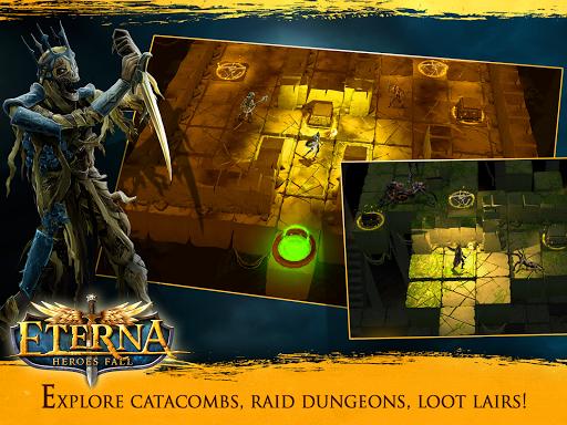 Eterna: Heroes Fall - Deep RPG 1.146 screenshots 9