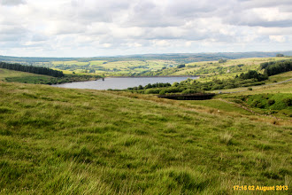 Photo: Cray reservoir and welcome site of walk finish point