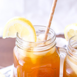 Apricot Lemon Iced Tea