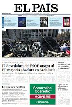 Photo: El descalabro del PSOE otorga al PP mayoría absoluta en Andalucía; un doble atentado ensangrienta Damasco y un especial sobre la falta de transparencia en las Administraciones, en nuestra portada del domingo 18 de marzo http://srv00.epimg.net/pdf/elpais/1aPagina/2012/03/ep-20120318.pdf