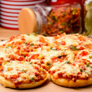 Mini Pizzas (With Homemade Pizza Crusts)