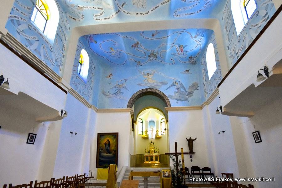 Церковь Девы Марии монастыря Дир Рафат.