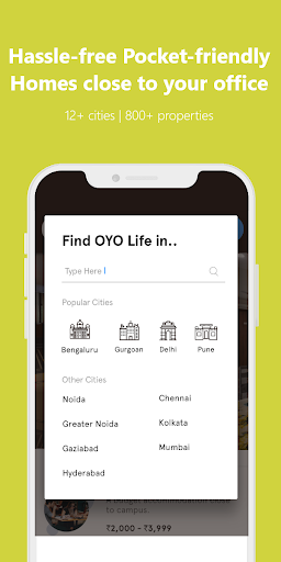 OYO LIFE: Rent Flats/PG, Furnished, Zero Brokerage 1.5.3 screenshots 3