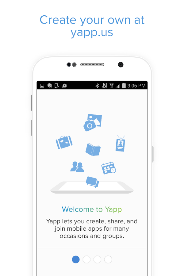Yapp- screenshot