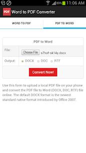Word to PDF Converter 2