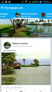 Facepage Lite screenshot 1