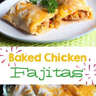 Baked Chicken Fajitas {Freezer Meal}