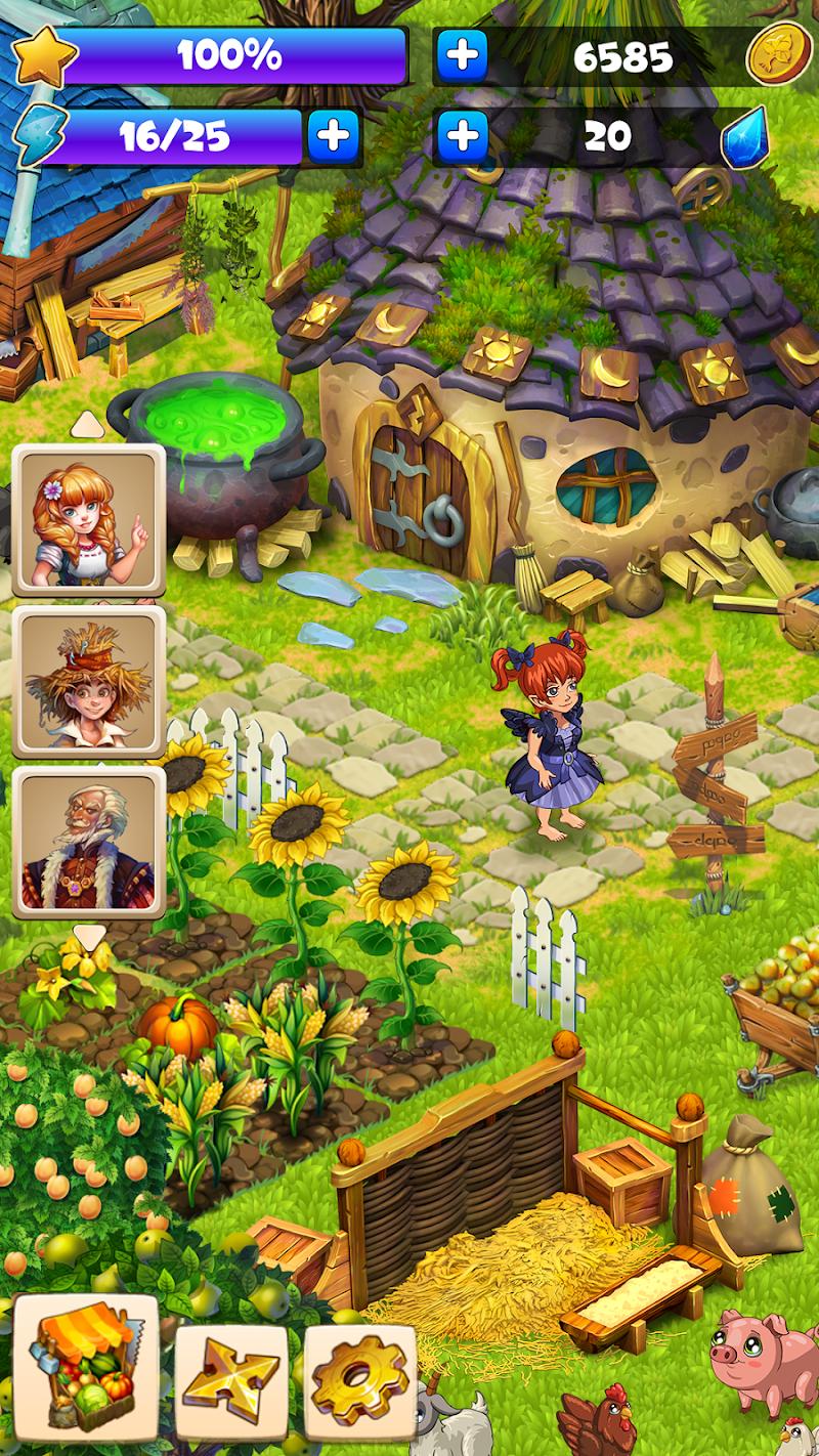 Farmdale - farm village simulator Screenshot 5