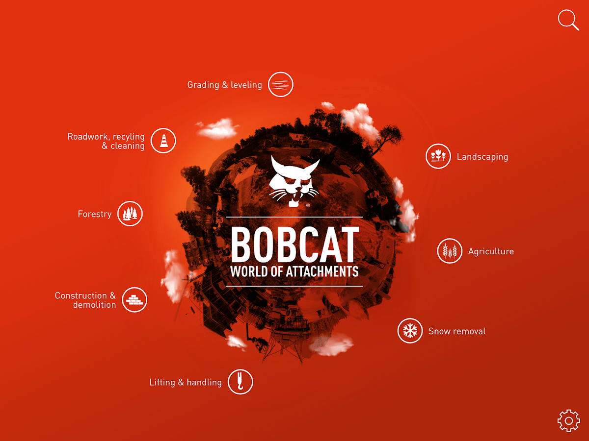 Bobcat World of Attachments- screenshot