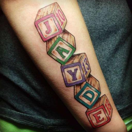名字纹身 生活 App LOGO-APP試玩