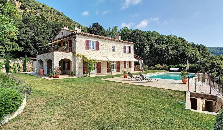 Maison avec piscine et terrasse Grasse