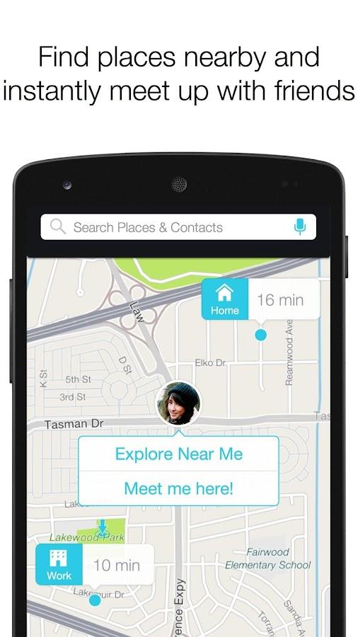 Scout GPS Navigation & Meet Up - screenshot