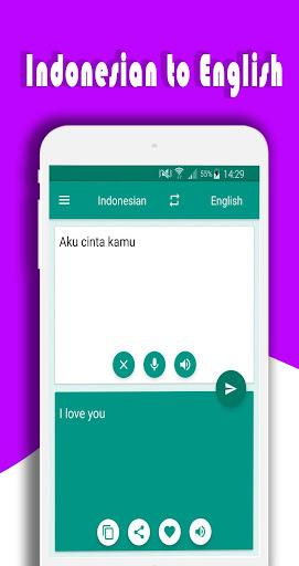 Translate English Indonesian Screenshot 4