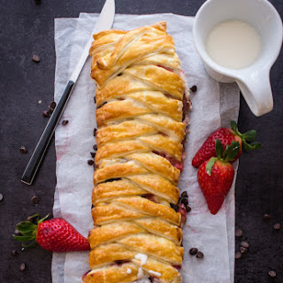 Strawberry Cream Cheese Strudel Recipe