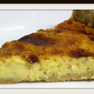 Old Fashioned English Custard Tart.