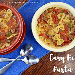 One Pot — Easy Bow Tie Pasta Soup (Gluten Free Option Included).