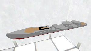 騰蛇型特型駆逐艦の船体