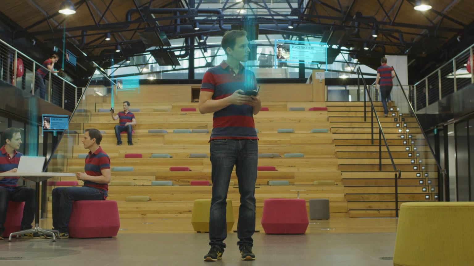 Scène futuriste de Cryptopia, un film sur Bitcoin et les cryptomonnaies