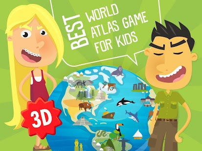Atlas 3D game for Kids- screenshot thumbnail
