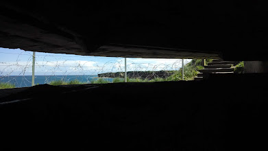 Photo: View from German bunker