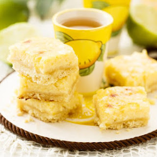 Weight WAtchers Key Lime Pie Bars.