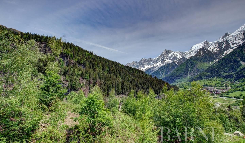 Terrain avec vue panoramique Chamonix-Mont-Blanc