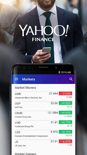 Yahoo Finance: Real-Time Stocks & Investing News 5.1.0 screenshots 1