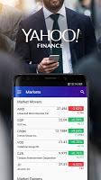 screenshot of Yahoo Finance: Real-Time Stocks & Investing News