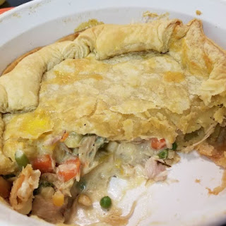 Scrumptious & Easy Chicken Pot Pie.