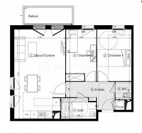 appartement à Roissy-en-Brie (77)