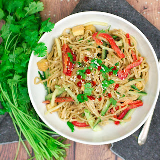 Cold Asian Noodle Salad Vegetarian Recipes.