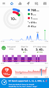 Notify & Fitness for Mi Band 9.0.6 (Pro)