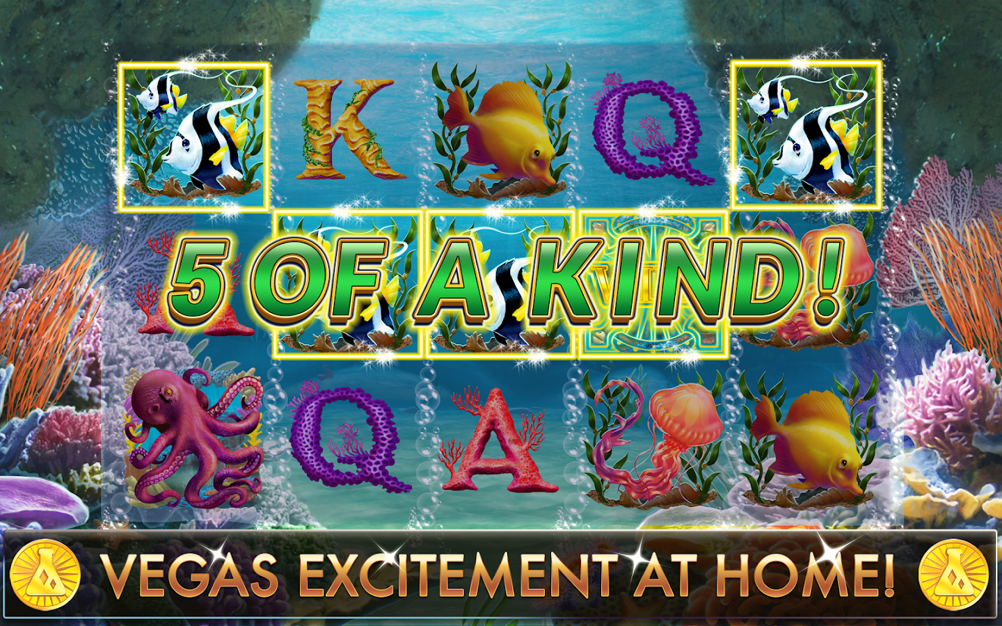 Slots lucky fish casino android apps on google play for Fish slot game