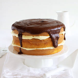 Boston Cream Pie Layer Cake.