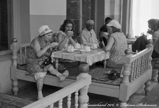 Photo: В чайхане. Самарканд. Май 1976 года.